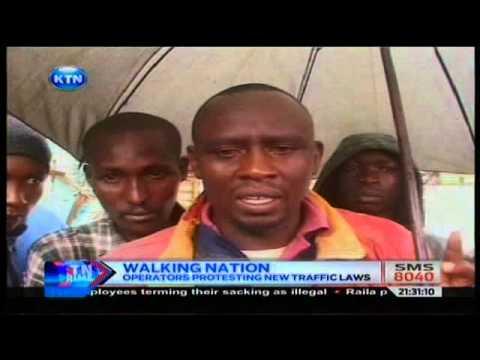 News : Kenya turns to be a  walking nation