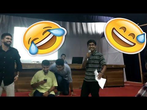 Funny Shayari on Freshmen Orientation - 2016-17,IIT-BHU | Kinshuk Yadav