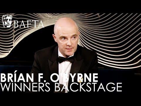 Supporting Actor winner Brían F. O'Byrne talks about his BAFTA Win  BAFTA TV Awards 2018