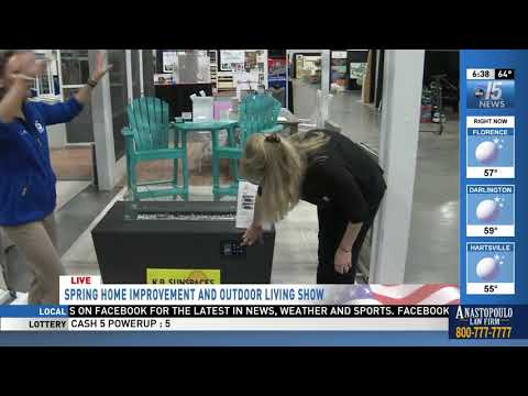 Amanda Live with KB SunSpaces at Spring Home Show - WPDE ABC 15