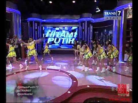 JKT48 Team K - 1! 2! 3! 4! Yoroshiku! At Hitam Putih @Trans7 [27.06.2013]