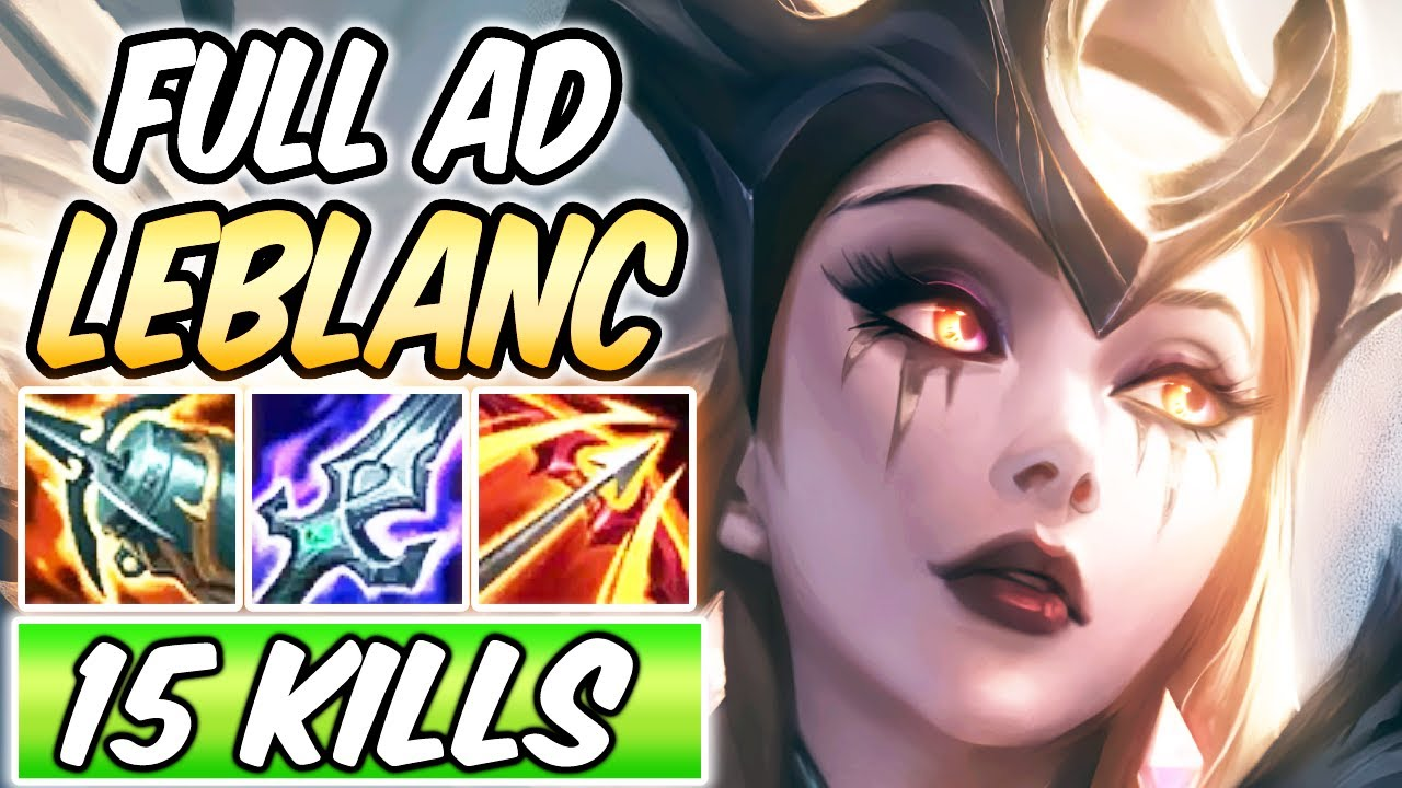 Full Ad Leblanc Mid Gameplay Coven Leblanc New Build Runes League Of Legends Season 11 Youtube