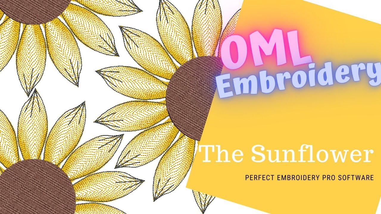 Sunset with Sue: Learn to digitize a Sunflower in Perfect Embroidery Pro (EP7)
