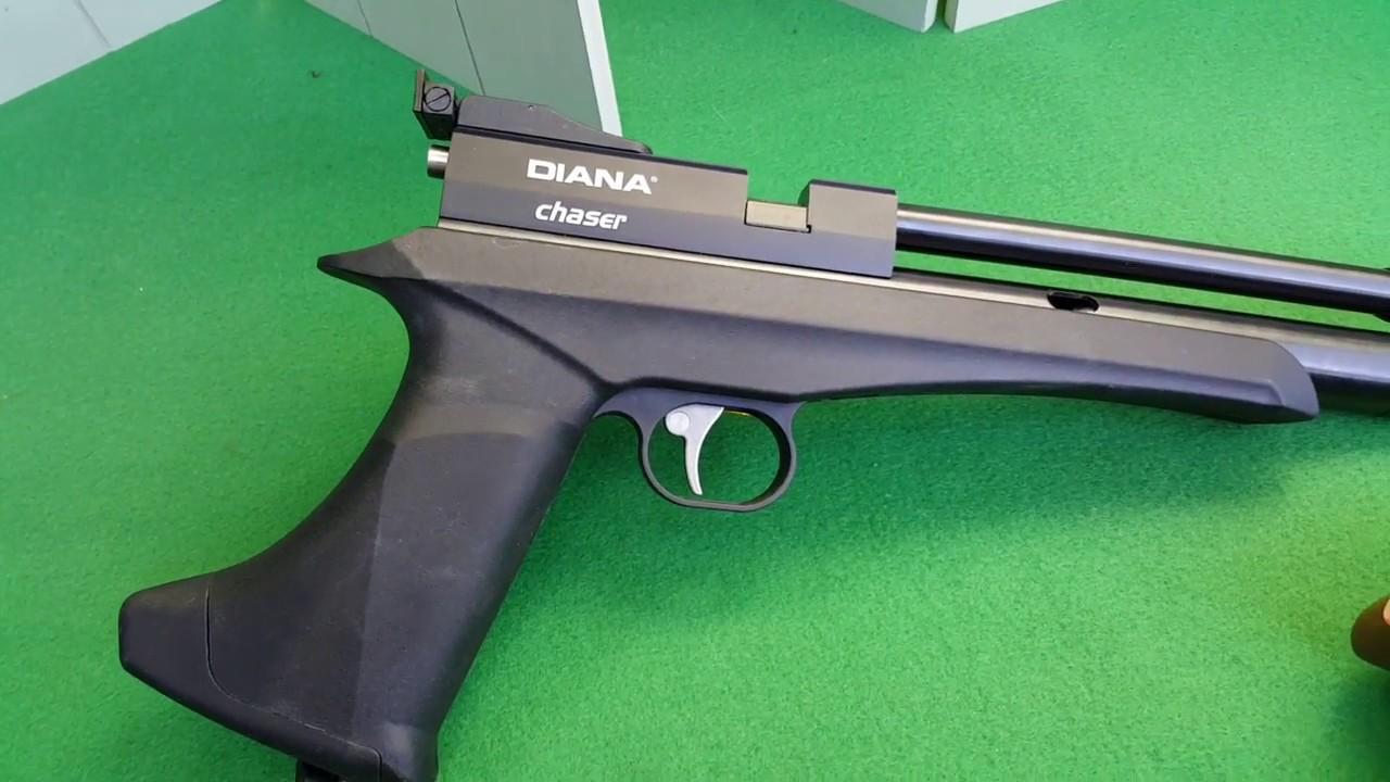 Diana Chaser Pistole 4,5 mm Co2 //AnalyseCheck & ChronyTest