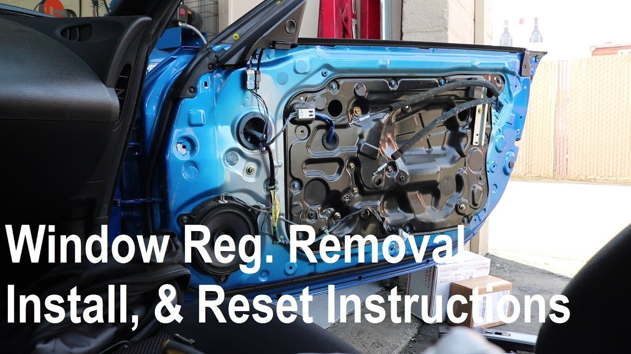 350z How To Remove And Install Window Regulator Motor W Reset Procedure Detailed Version Youtube