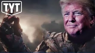 Trump Thanos Ad Tweeted By Campaign