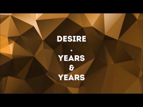 Years & Years Karaoke: Desire (w/ Lyrics)