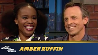 "Amber Ruffin Is Living Her Best ""14-Year-Old Boy"" Life During Quarantine"