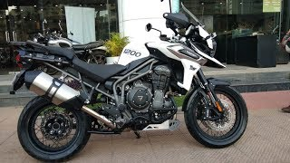 Delivery of Triumph Tiger 1200 XCx   19 03 2019
