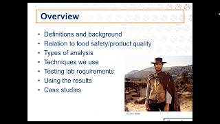 The Good, The Bad, The Ugly: Identifying Foreign Materials in Raw Materials & Finished Products