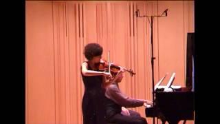 R.Strauss: Violin Sonata op.18 in E-flat major (1/3) - Chiara Morandi, violin; Joachim Kist, piano