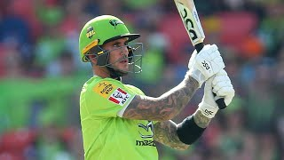Hales hammers crucial 47 in Thunder's rain chase