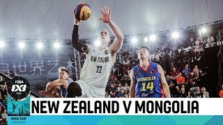 New Zealand v Mongolia - Semi-Finals - Men's Full Game - FIBA 3x3 Asia Cup 2018
