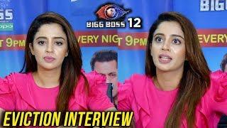 Bigg Boss 12 Eviction | Neha Pendse First Interview After Bigg Boss 12 | TellyMasala