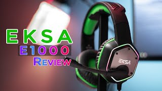 EKSA E1000 7.1 Gaming Headphone Review | Gaming Headset For PC & PS4
