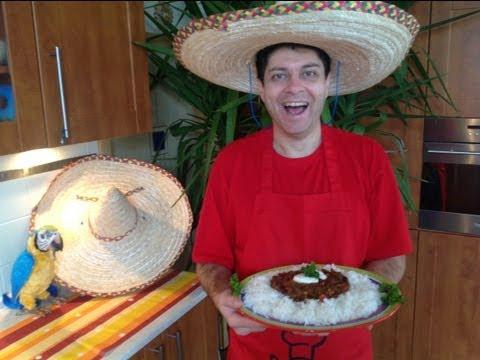 CHILLI CON CARNE RECIPE IN 30 MINUTES, AUTHENTIC MEXICAN RECIPE