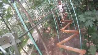 Панда Парк в Филях - Второй раз по маршруту «Смелый»