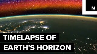 NASA's New Timelapse Shows Earth's Horizon From the ISS thumbnail