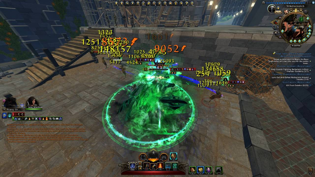 SW Hellbringer Fury Fernu Stormborn - BUILD+ROTATIONS - Neverwinter Mod 10  by Fernu Stormborn
