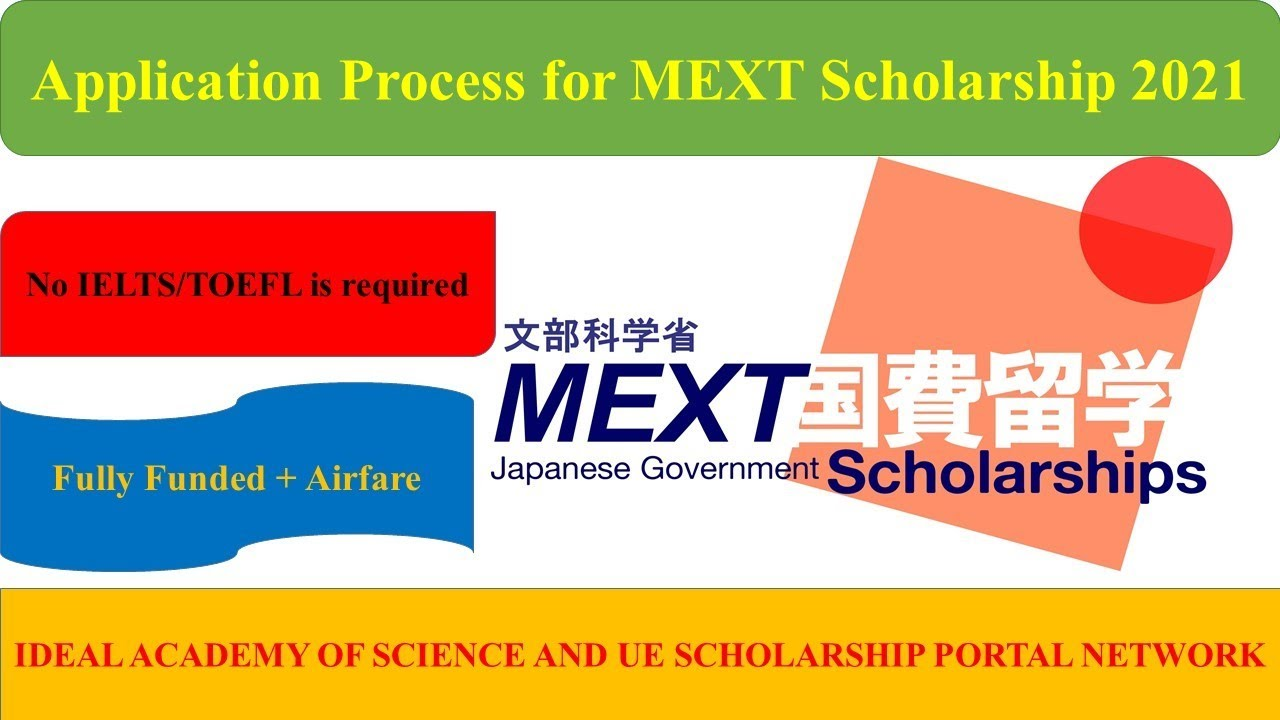 Complete Application Process for MEXT Undergraduate ...