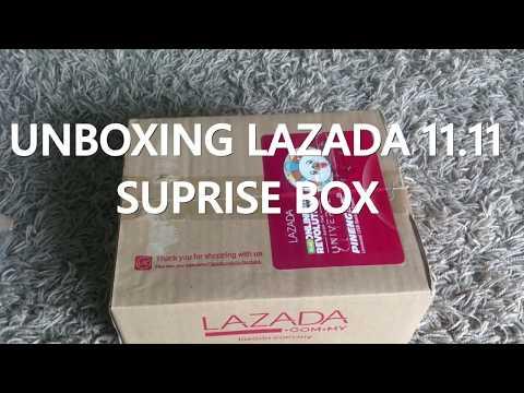 Unboxing LAZADA 11.11 SURPRISE BOX