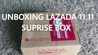 Unboxing LAZADA 11.11 SURPRISE BOX