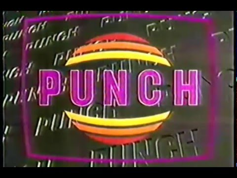 PUNCH, CaNaL A + INTRO 1992 (CoLoMBiA)