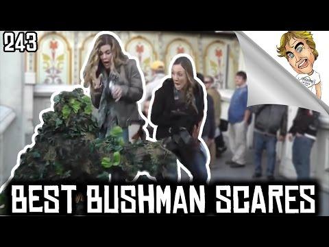 BEST OF The Bushman Scare prank Funny Video! #243 | Ryan Lewis Pranks