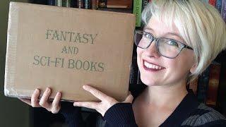 Fantasy & Sci-Fi Books Unboxing!