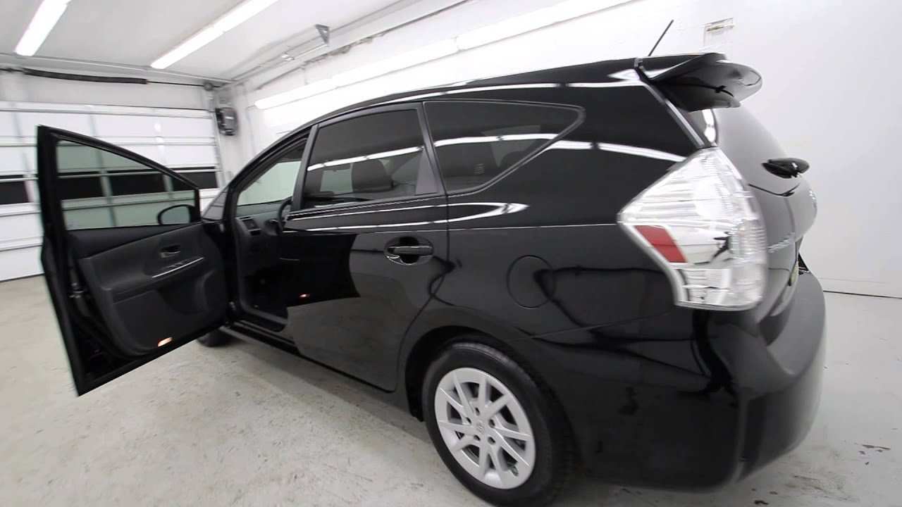 2013 Toyota Prius V Five Black D3253469 Seattle
