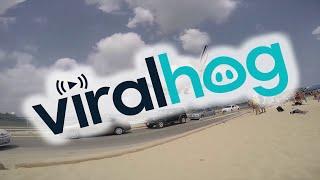 GoPro Hero4 on Maho Beach  || ViralHog