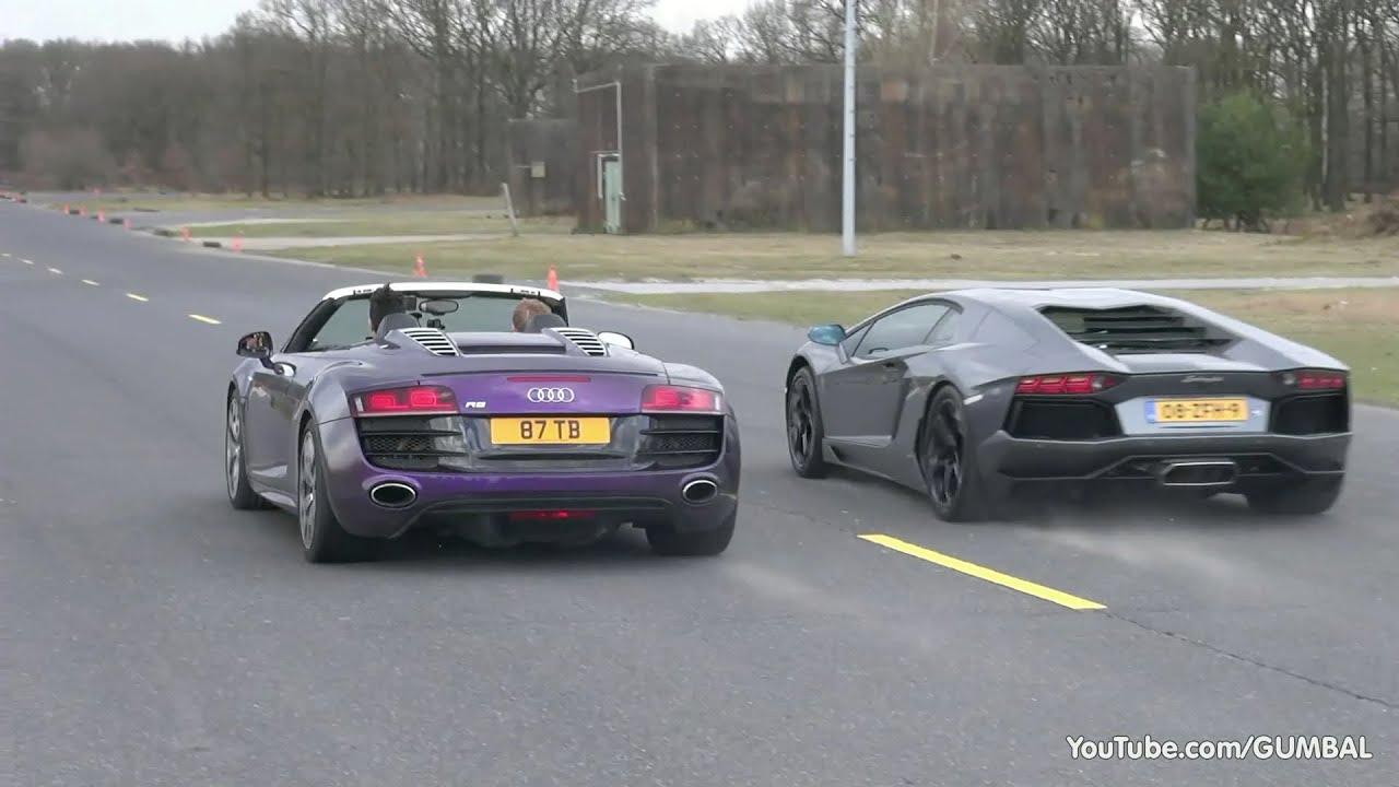 maxresdefault Inspiring Bugatti Veyron Vs Lamborghini Gallardo Cars Trend