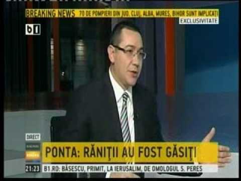"""20.01.2014 Premierul Victor Ponta a fost invitatul emisiunii """"Bună seara, România!"""" la B1 TV p3"""