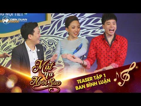 """Mặt nạ ngôi sao   Teaser tập 1: Trịnh Thăng Bình """"quê toàn tập"""" khi """"khẩu chiến"""" với Trường Giang"""