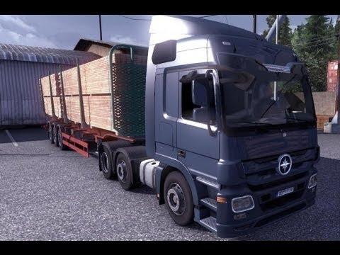 Euro Truck Simulator 2 Deliver:Lumber : = Milano-Torino =