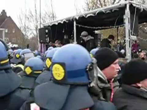 """COP15: Police Attack Sound Truck and Assult/Arrest Media at """"Stop Means of Production"""" Demonstration"""