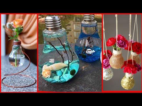 Beautiful light bulb decoration ideas