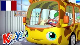 Les roues du Bus   Comptines   KiiYii   Comptines pour bébé   Les roues du Bus - Partie 2