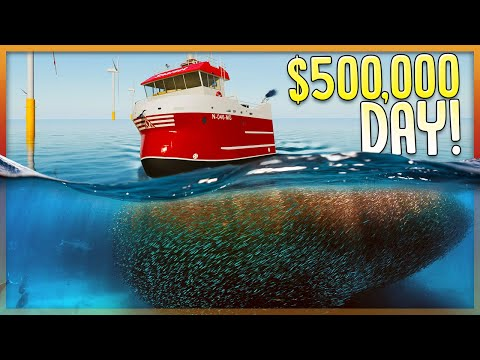 100,000 KG Of Fish In ONE LINE? - Major Profits Commercial Fishing - Fishing North Atlantic