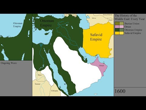 The History of the Middle East: Every Year