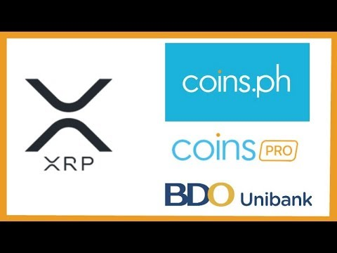 Ripple XRP added on Coins.ph & Pro.Coins.asia - BDO Unibank, Inc Testing xRapid?