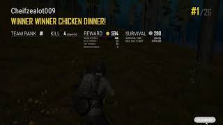 Pubg PC chicken dinner