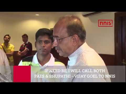 If Need Be, I Will Call Both Paes & Bhupathi – Vijay Goel To Nnis