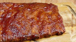 Costillas de cerdo al horno en salsa barbacoa CASERA