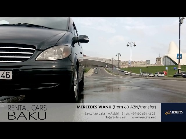 Mercedes Viano / Rent a car Baku from RENT EXPRESS company