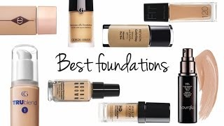 THE BEST LIQUID FOUNDATIONS 2013! (ALL SKIN TYPES)