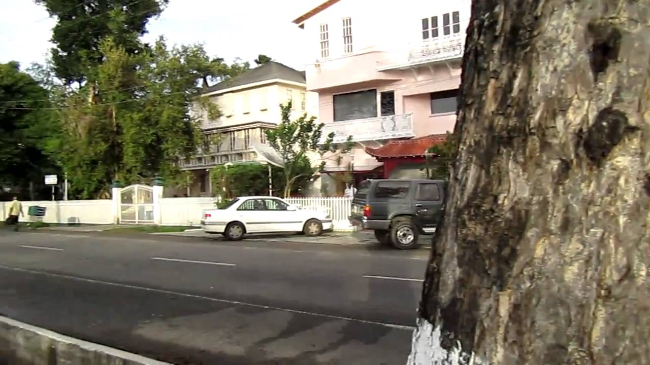 Main And Middle Streets Georgetown Guyana Youtube