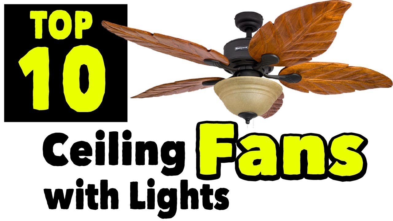 Flush Mount Ceiling Fan With Lights