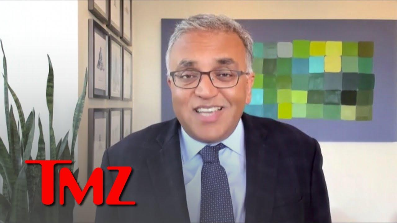 Dr. Ashish Jha Says Mask Mandates Unfair to Vaxxed, Delta Makes Vaccine Crucial   TMZ