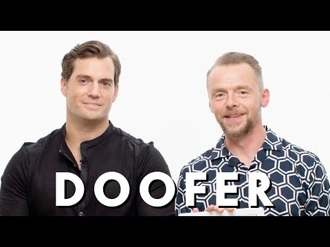 Henry Cavill and Simon Pegg Teach You English Slang  Vanity Fair